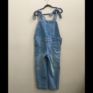 New York and Co. Cropped Overall